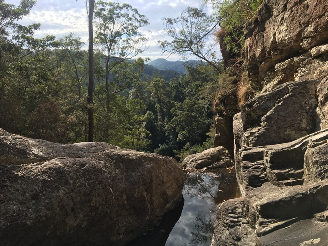 Hell Hole Falls, Mount Jerusalem National Park in Northern NSW