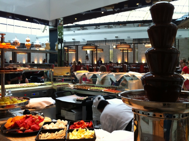High tea buffet @ Atrium Restaurant