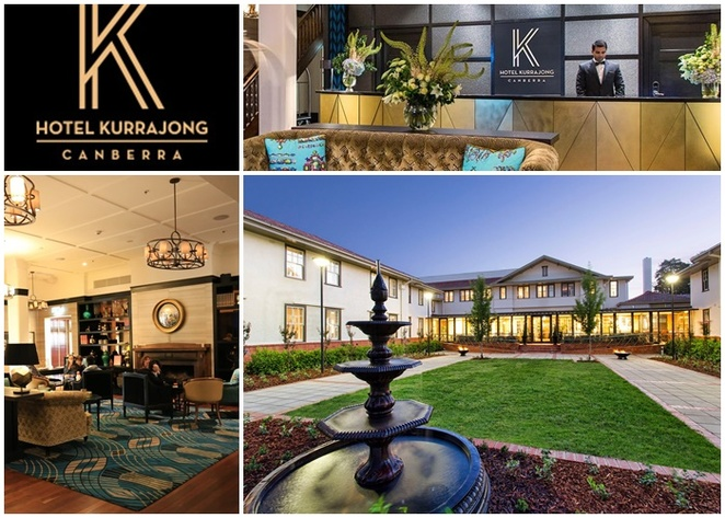hotel kurrajong, canberra, hotel, history, barton, chifley, things to do in barton, hotels in barton, ACT, lake burley griffin, parliament house,