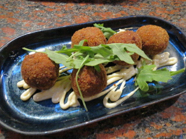 House Arancini, The Norwood Hotel, Adelaide