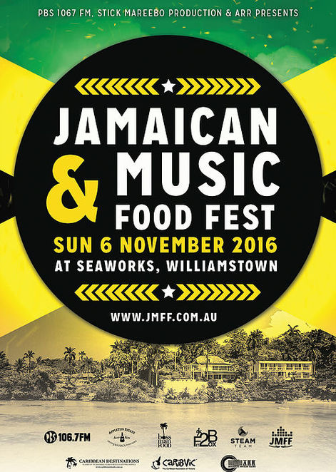 jamaican,food,music,festival,williamstown,seaworks,melbourne