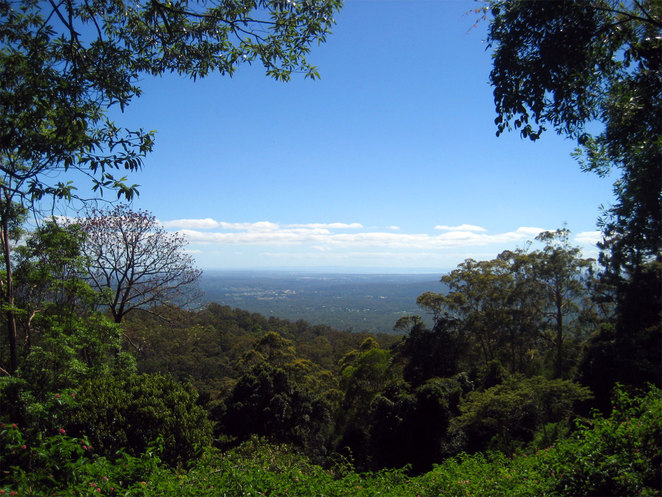 View from Jollys Lookout, Mt Nebo