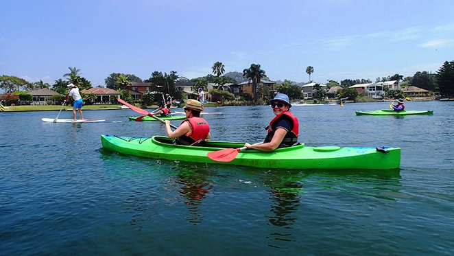 Kayaking & Paddle Boarding, ProKayaks, Narrabeen Lakes