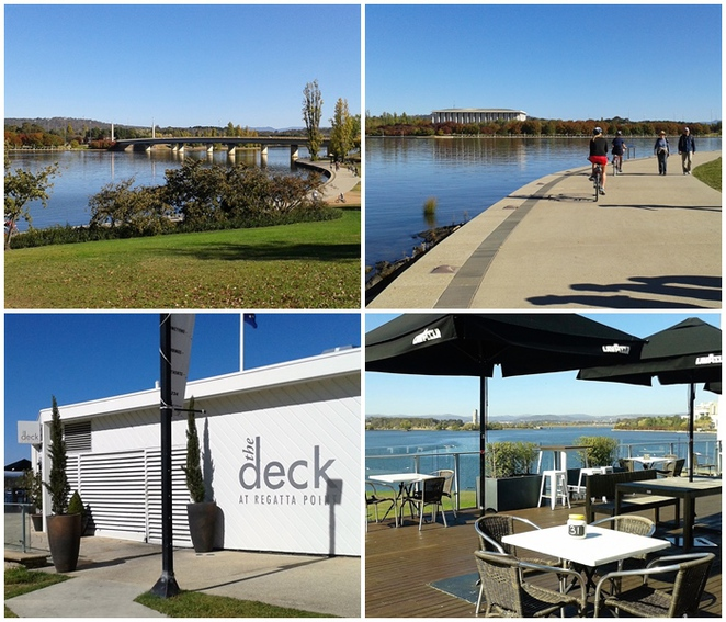 lake burley griffin, the deck, regatta point, ACT, canberra visitors centre,