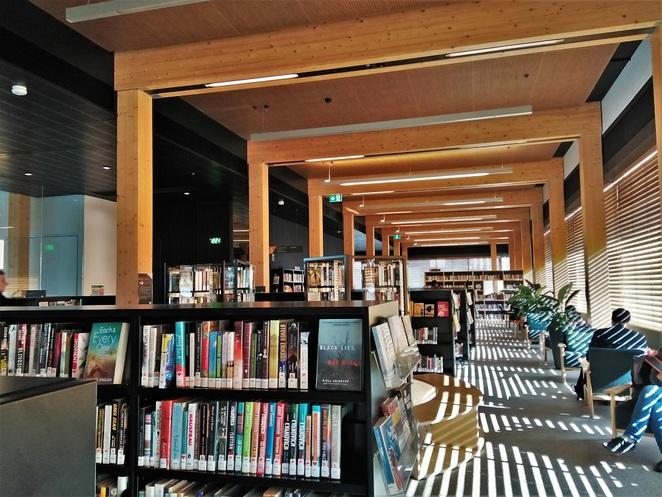 library at the docks, docklands, melbourne