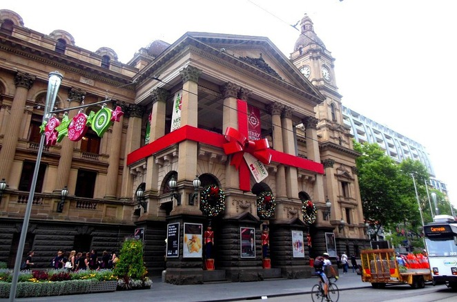 melbourne town hall christmas