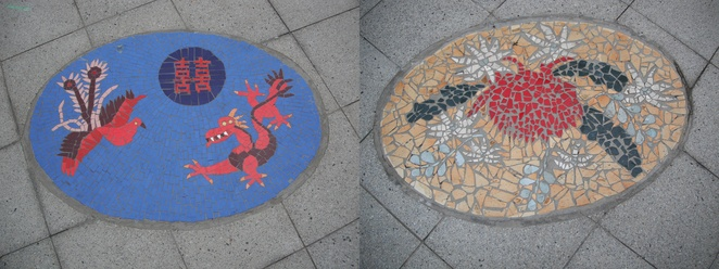 Mosaic art, Crows Nest