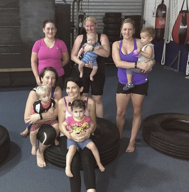 mum's and bub's classes, fitness townsville, personal training townsville