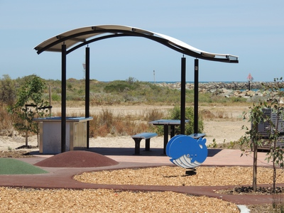 playground in, a play ground, outer harbor, lady ruthven reserve, defence sa, northern lefevre peninsular, north haven, playground