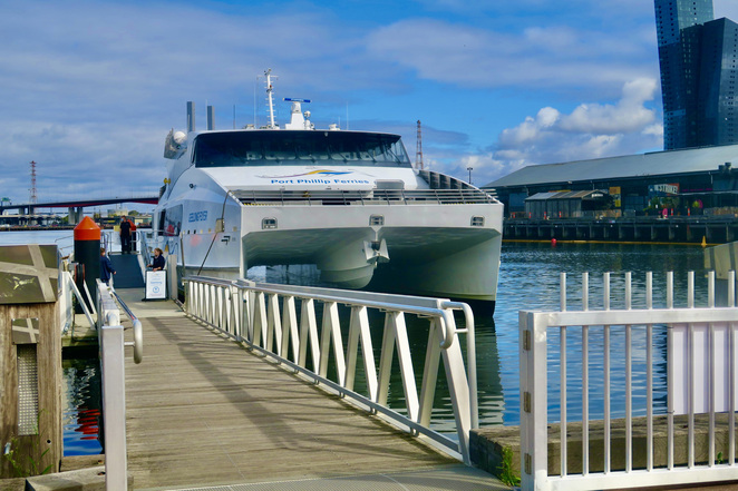 Port Phillip Ferry, Ferry to Geelong