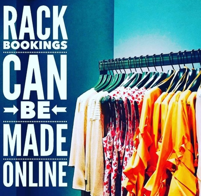 Rent That Rack, Market, Boutique, pre loved, op shop, sustainable fashion, shopping,