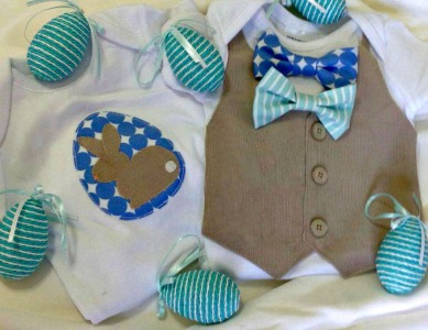 Rock a Buy Boutique Markets Baby's Easter Outfit