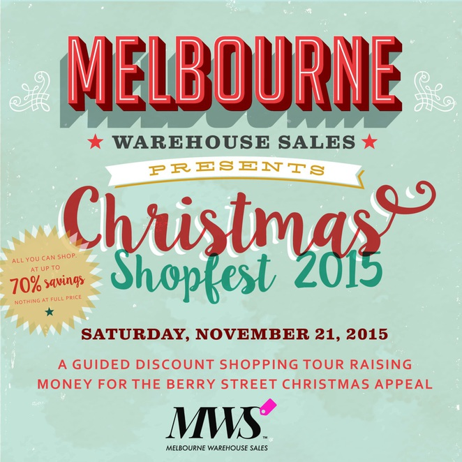 Shopping Tour Melbourne,Warehouse Sales,Christmas Sales,Cheap Christmas Shopping,