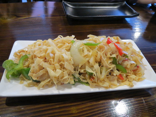 Simon Taste Chinese Restaurant, Shredded Dried Bean Curd Salad, Adelaide