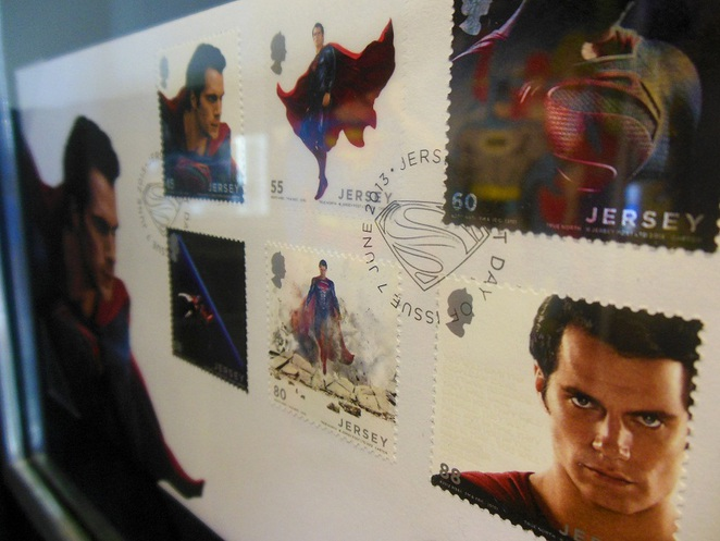Singapore Philatelic Museum superman stamps