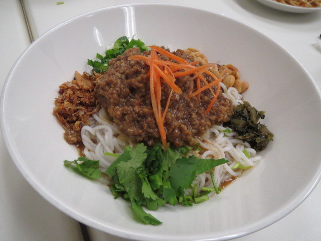 Southern Noodle Bar, Dry Rice Noodles with Pork Mince, Adelaide