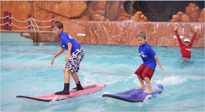surfing lessons, school holidays