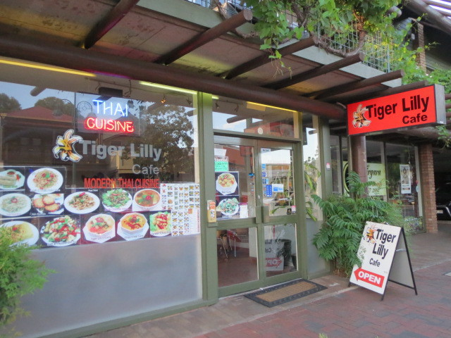 Tiger Lily Cafe, Adelaide
