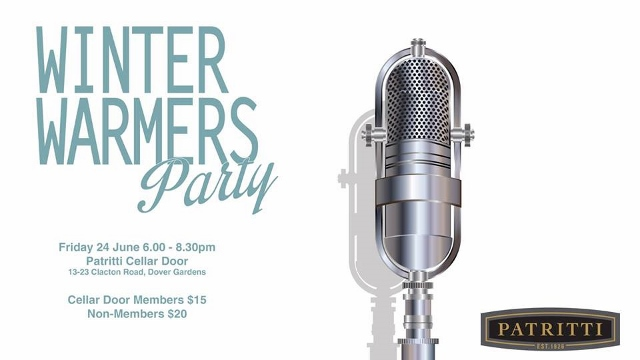 Winter Warmers Party at Patritti Wines
