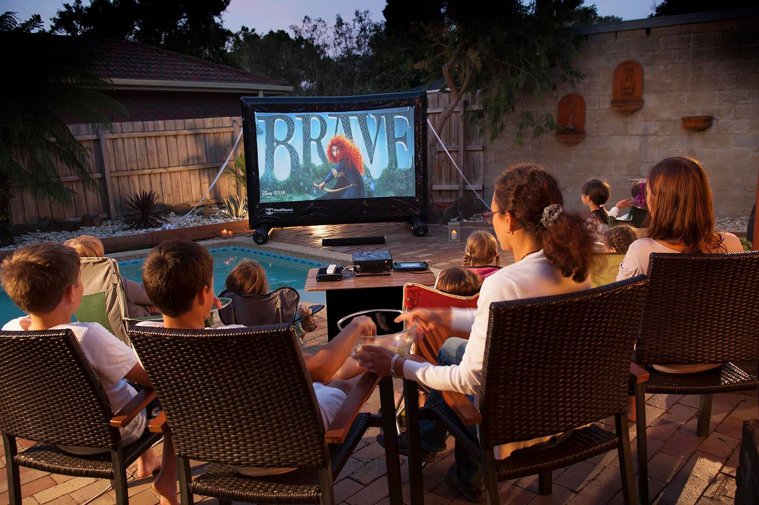 inflatable movie screens and outdoor cinema systems warehouse sale
