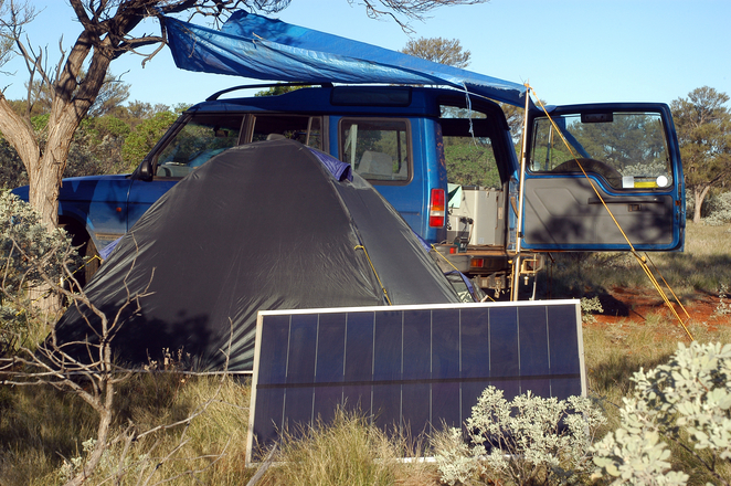 4wd Four Wheel Drive Tent Camping Solar Outback