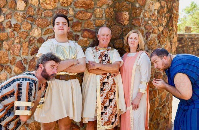A Funny Thing Happened On The Way To The Forum, Rolerystone Theatre, Stephen Sondheim, musical, performing arts, comedy, humour, Roleystone Hall, farce