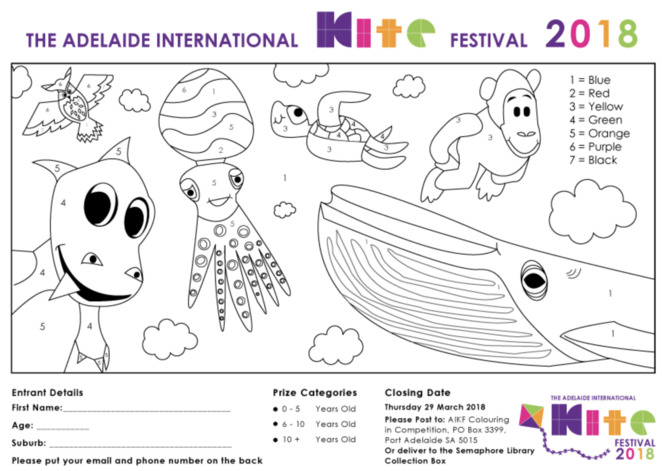 Adelaide International Kite Festival, family event, free, Semaphore, Semaphore Foreshore and Beach