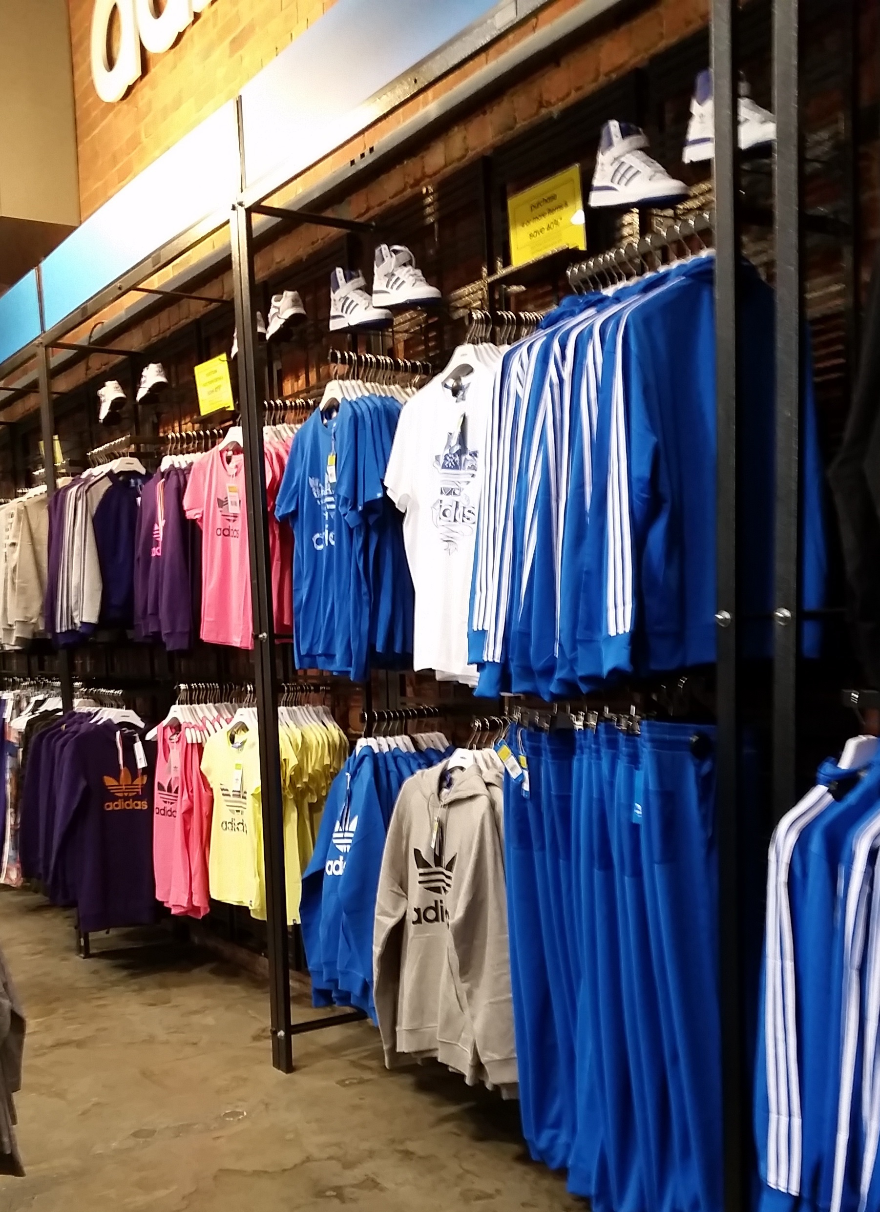 adidas factory outlet montreal