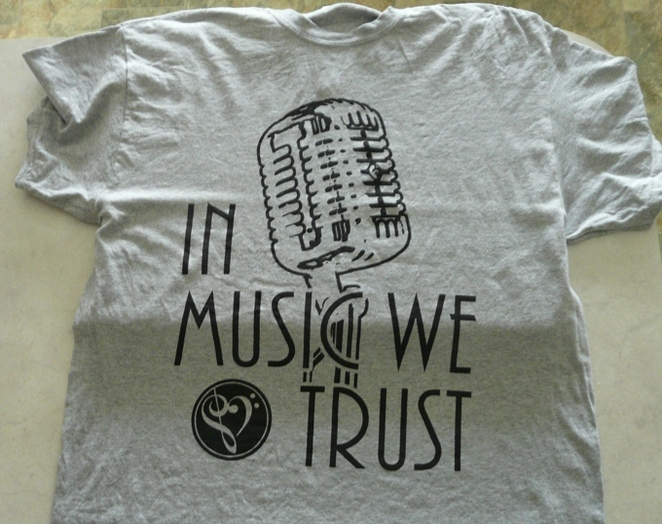 aiden hatfield, in music we trust, t-shirt, music, album, chapter one