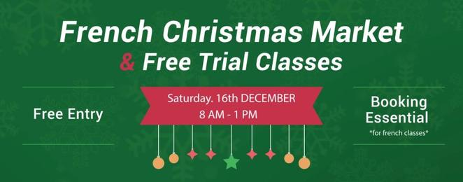 Alliance Française, Christmas Market, 2017, Free, French lessons, West End, cultural, cooking masterclass