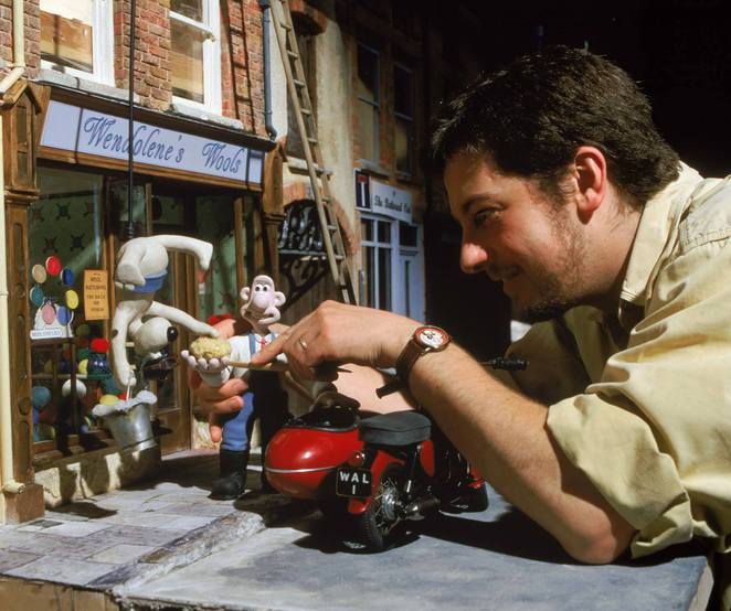 animator at Aardman Studios