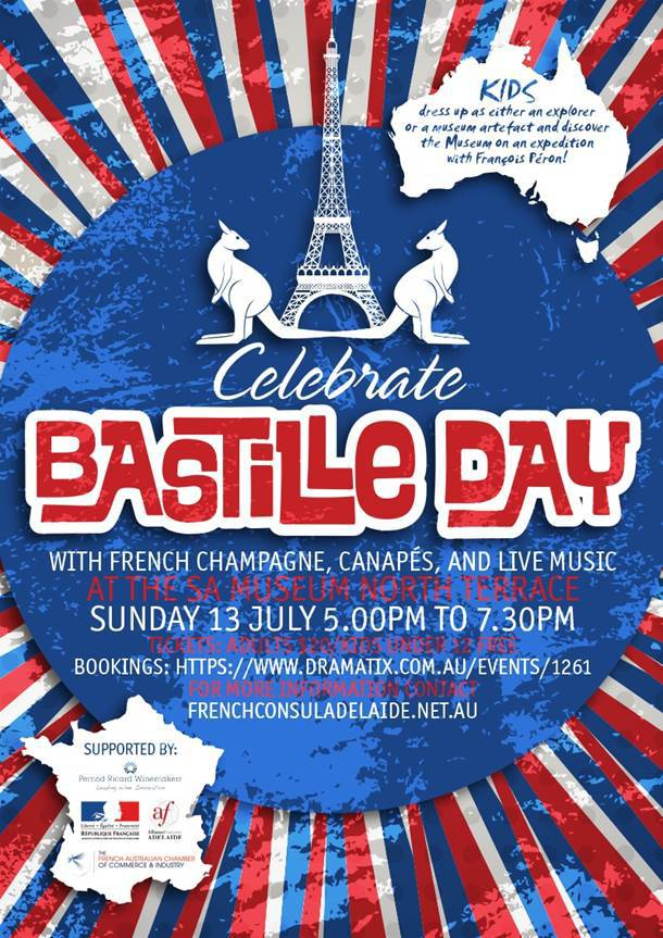 Celebrate bastille day at the sa museum adelaide for Poster revolution france