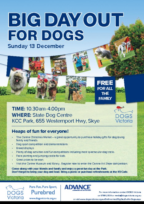 Big Day Out for Dogs