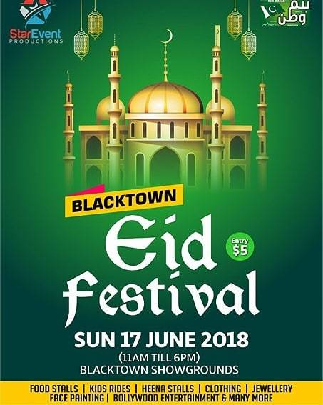 blacktown eid festival 2018, community event, fun things to do, cultural event, blacktown showgrounds, event productions, ramadan, family fun, food stalls, market stalls, face painting, entertainment, food stalls, multicultural event, fireworks