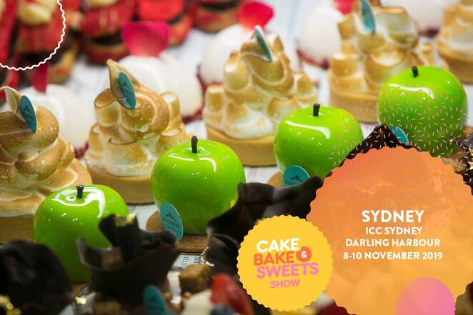 cake bake and sweets show 2019, event November, community event, fun things to do, kids cooking, Katherine Sabbath, cooking workshop, biscuit decorating, community event, cake decorating, ICC Darling Harbour, cake workshop