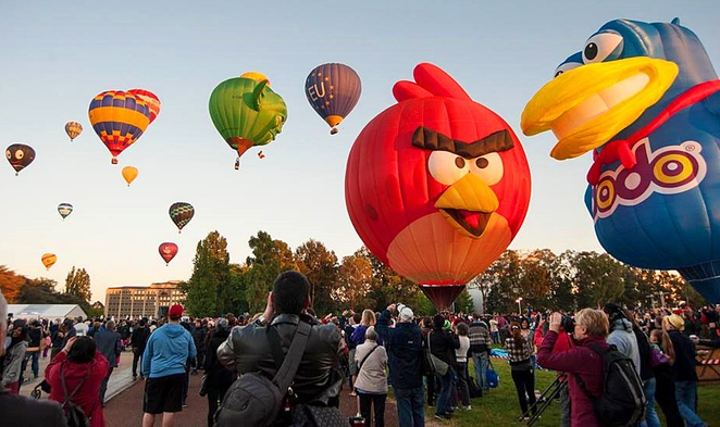 canberra balloon specacular, canberra, 2017, events, ACT, families, hot air balloons,