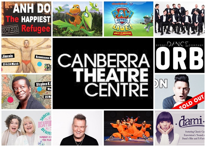 canberra theatre, theatres in canberra, live performances, ACT, live shows, nightlife, concerts, shows, kids shows, dance,