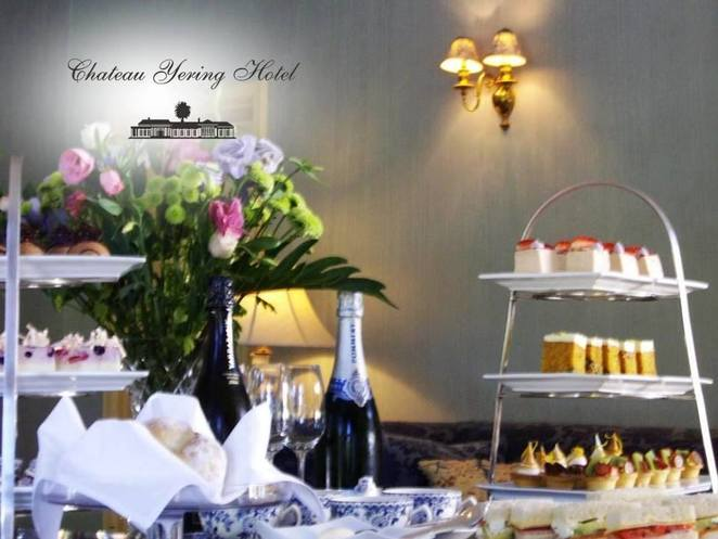 Chateau Yering High Tea
