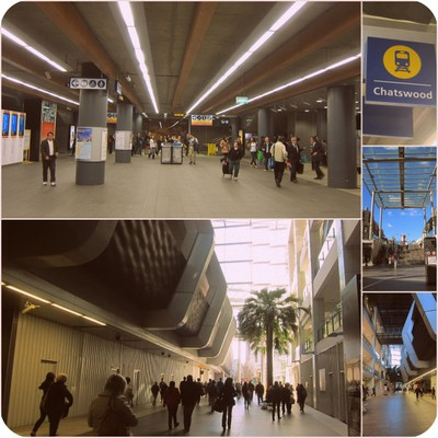 Chatswood, Chatswood Chase, The Concord Chatswood, Chatswood Library, Sydney North Shore, Chatswood The Concourse, Chatswood Train Station