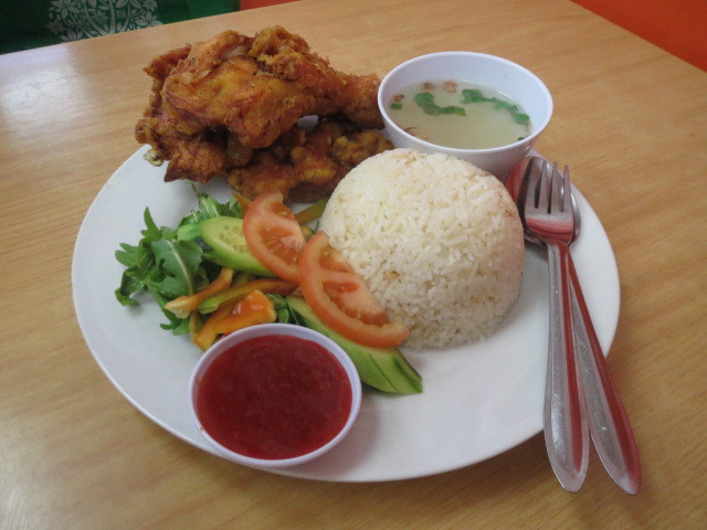 Chef Lai Noodle Cafe, Fried Chicken Rice, Adelaide