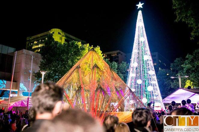 christmas in the city 2016, events in canberra, festivals in canberra, 2016 events in ACT,