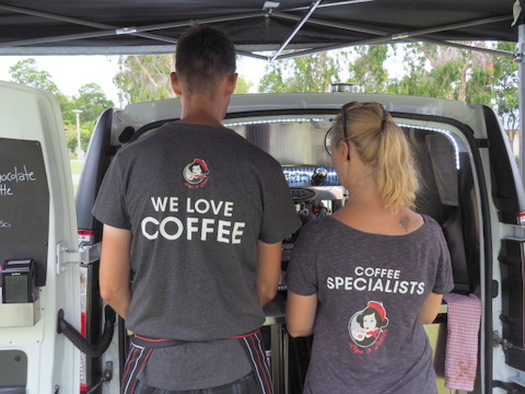 Coffee Van, Lips and Lattes, coffee, events, hire