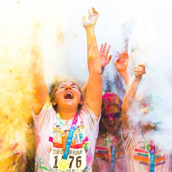 Colour,Run,2017,fun, party