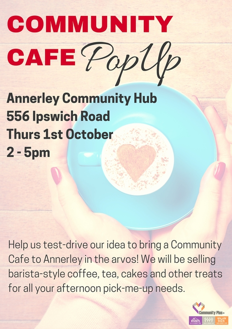 Community Cafe, Annerley, Community, Cafe, Coffee, Afternoon, Southside, Suspended Coffee, Pay It Forward, Annerley Community Hub,