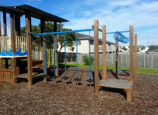 Dare Reserve, Ocean Grove, Playground, Bellarine, Recreation, Play, Child-friendly, park, monkey bars,