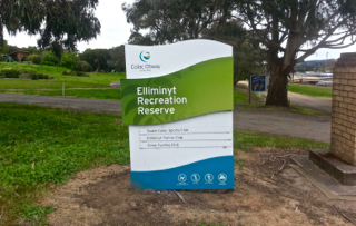 Elliminyt Recreation Reserve, Colac, Playgrounds in Colac, boat park, boat playground, boat figurehead, wooden boat playground,