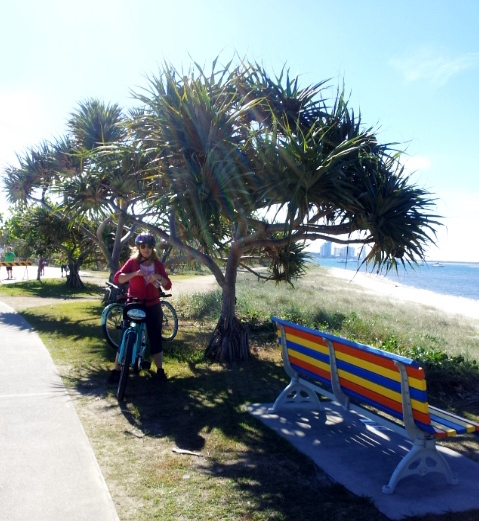 Get on your bike, Gold Coast bike riding, tandem bikes, cruiser bikes, mountain bikes, children's bikes, tagalong bikes, bike tours.