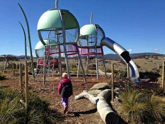 gumnut playground, googong, what to do in googong, NSW, near queanbeyan, near canberra, best playgrounds, new playgrounds, families, bbq areas,