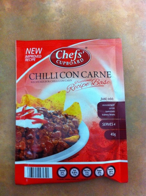 Chef's Cupboard Chilli Con Carne Recipe Base