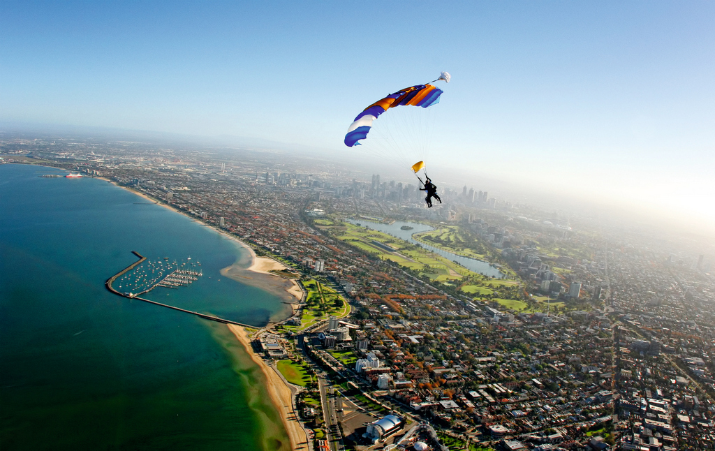 Skydive The Beach Amp Beyond Melbourne